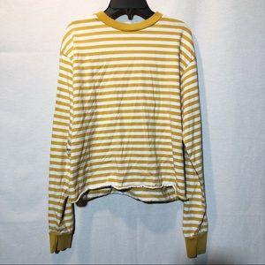 Brandy Melville yellow acacia sweater